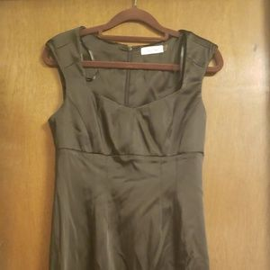 Black Calvin Klein Dress - 6P shining fabric